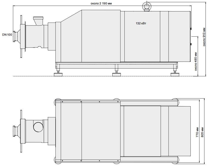 Эмульситатор KARL SCHNELL FL225/248 DK AMN